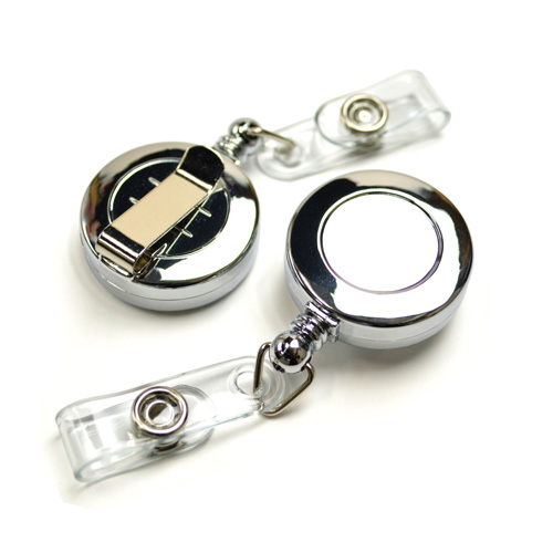 Badge Reel (Metallic)