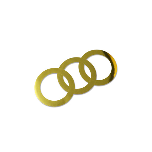 44mm Decorative Rings - Gold 100pcs