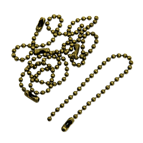 Ball Chain - Antique Gold 50pcs