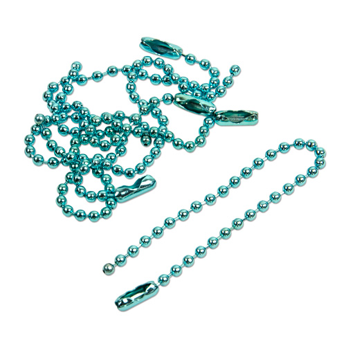 Ball Chain -Blue 50pcs