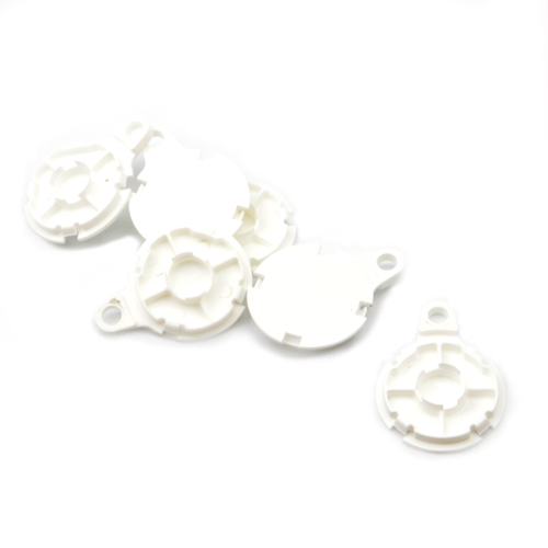 32mm Plastic Backs -White 50pcs