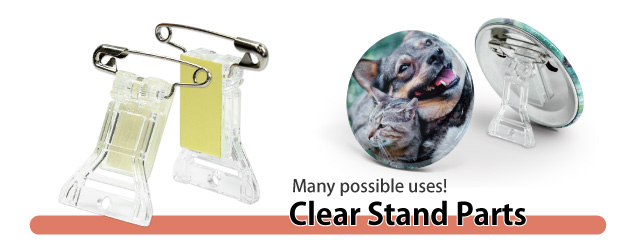 57mm Clear Stand Parts Set